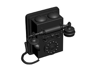 3D print model Retro phone