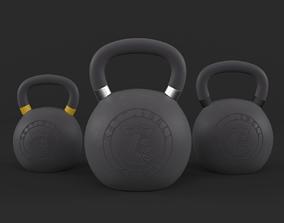3D model Kettlebell Weights