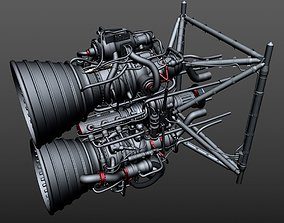 3D Rocket Thrusters - URAN-1