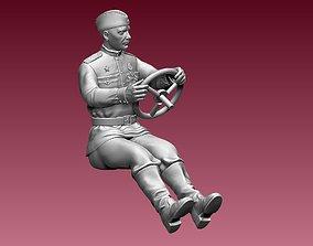 3D printable model chauffeur ussr ww2