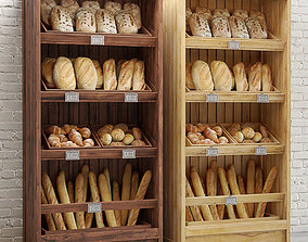 Bread Shelves 3D model