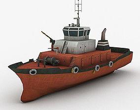 Tugboat 2 3D model