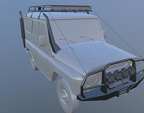 3D model UAZ offroad kit WITHOUT CAR