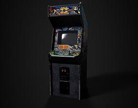 3D asset Double Dragon 2 Arcade Machine