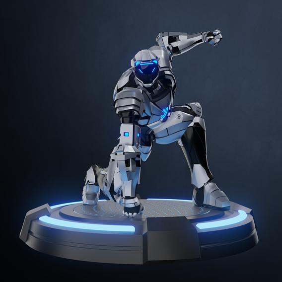 Landing robot