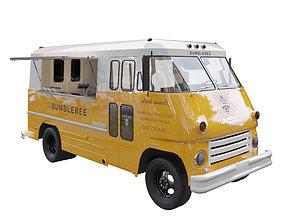 Food truck chevrolet 3D