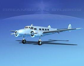 Lockheed L10 Electra LOT 3D