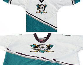 3D model Anaheim Mighty Ducks Pro Player Jersey