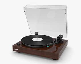 3D model record Record Player