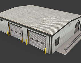 Small Warehouse 3D asset realtime