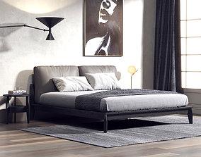 Bedroom Interior 205 3D model