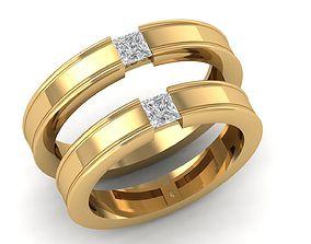 95 Wedding ring 3D printable model