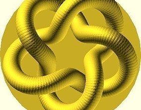 Parametric Knot 3D print model