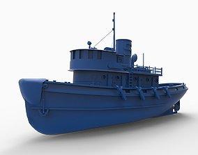 ship mod2 3D print model