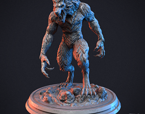 figure 3D printable model Werewolf