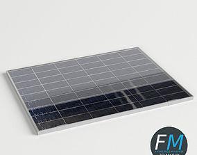 3D model Solar panel module