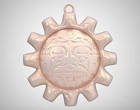 Sun Necklace 3D print model
