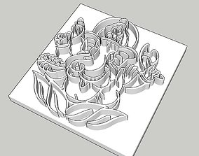 Ganesh Stamp 3D print model