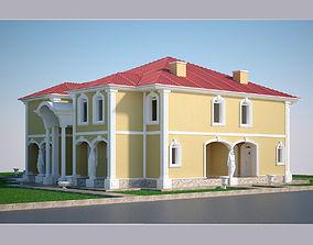 Luxury Villa 001 3D