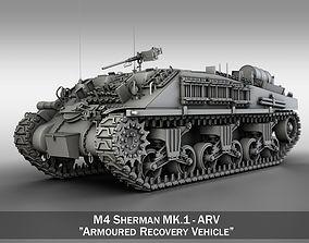 3D M4 Sherman ARV