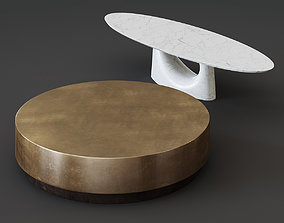 COFFEE TABLES BAXTER 3D model