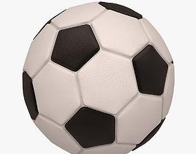Football Soccer Ball 3D model game-ready