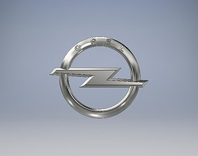 Opel Logo 3D printable model