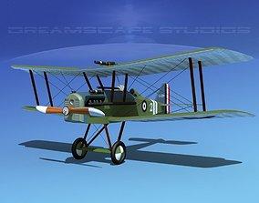 RAF SE5A Fighter V03 3D model