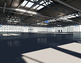Warehouse 001 UE4 3D