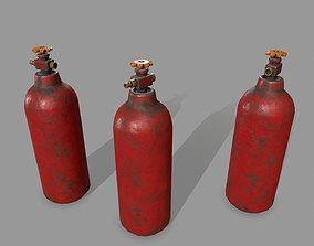 other 3D asset game-ready Propane Tank