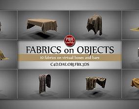 Fabrics on Virtual Objects 3D model