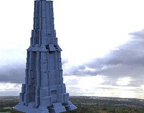 3D model Skyscraper Tall