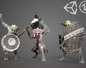 3D asset Goblins