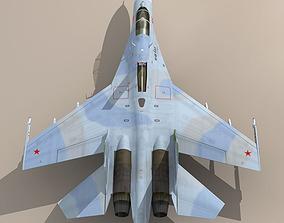 Su-27 - Flanker camo 2 3D