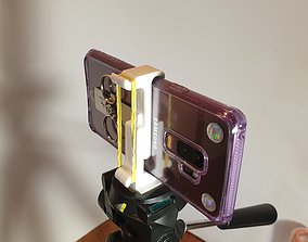 3D printable model Tripod Smartphone holder adapter
