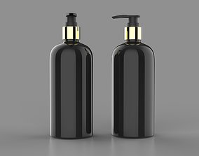 Shampoo bottle 3D asset realtime
