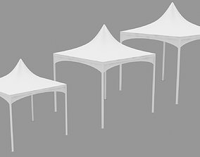 3D asset Meeting And Ceremony Tent Outdoor 3x3 4x4 5x5