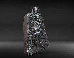 Thor pendant 3D printable model