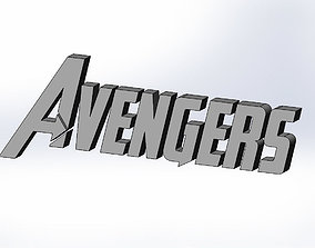 Cookie Cutter AVENGER 3D printable model