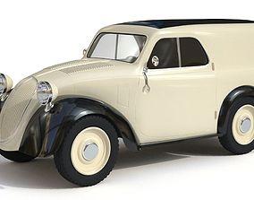 3D model Fiat Topolino Van 1949