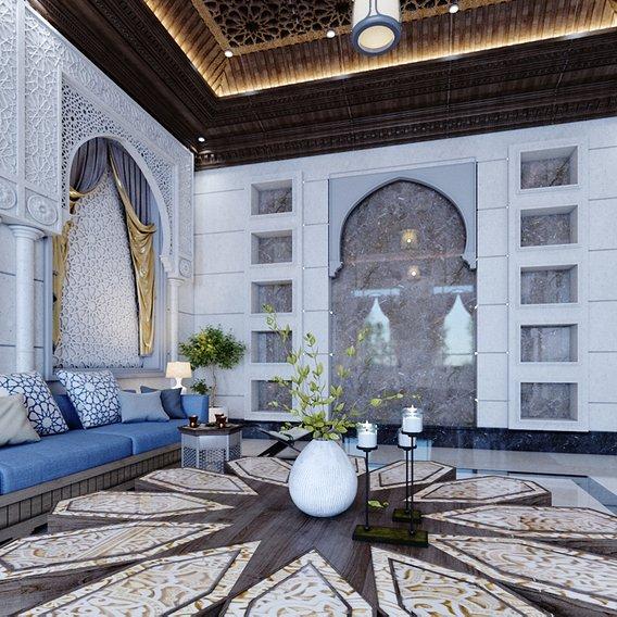 Islamic morocan style