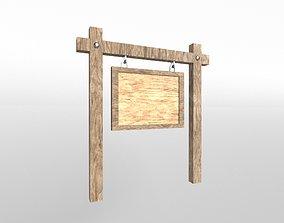 3D asset Signboard v1 001