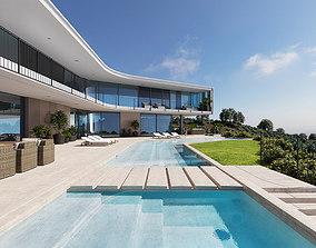 Exterior House Design 6 3D model