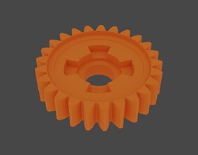 3D print model Reverse Gear Pubert