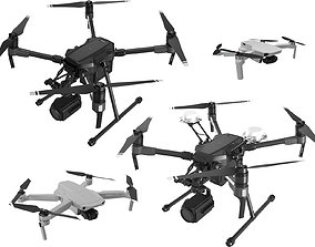 3D DJI Best Drones 2020 Collection