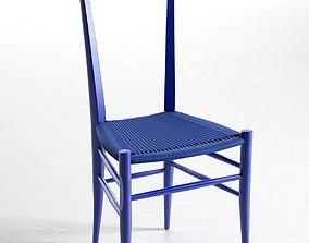 Solferino Chairs 3D model fabric