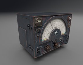 WW2 Radio Communications - UE4 ready - Low poly 3D asset 2