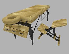 massage bed 3D model