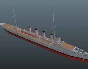 3D asset Scout Cruiser