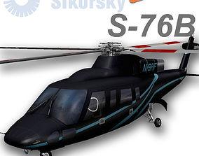 Sikorsky S-76B N19HF HeliFlite 3D model